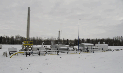 Duvernay Multi-Well Shale Gas Pads