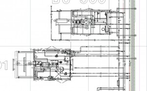 drafting oil and gas new piping design